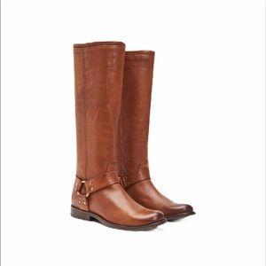 Frye Phillip harness tall riding boots